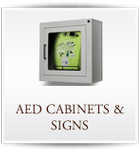 AED Cabinets/Signs
